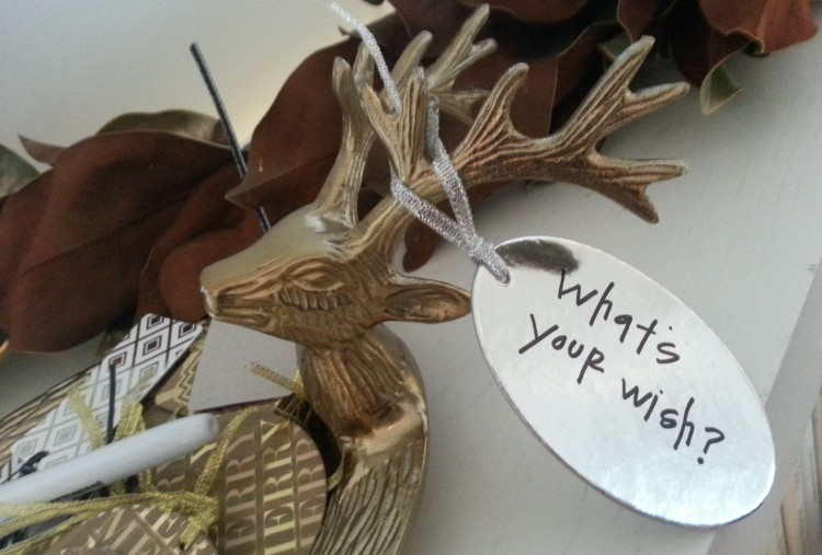 The Wishing Tree wish ornaments