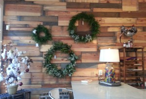 Dept7East Bistro and Bar Holiday Wall