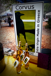 Corvus Olive Oil from Greece - yummy!
