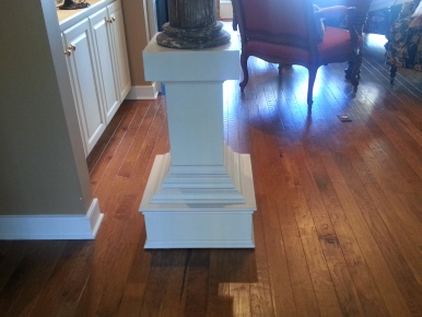 "Pedestal ""before"""