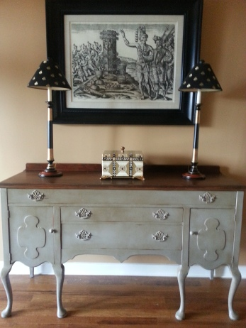 "Buffet sideboard ""after"""