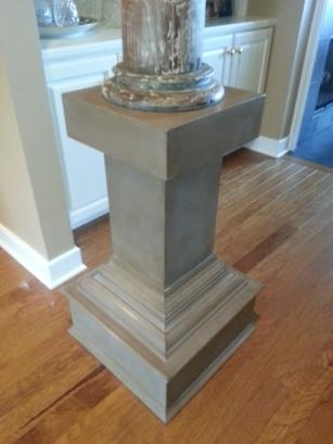 """Pedestal """"after"""""""